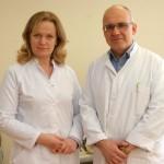 Dr. Gints Lapiņš un Dr. Silvija Lapiņa